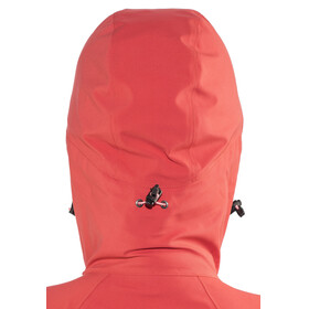 Bergans Eidfjord Jacket Ladies Pale Red/Pale Coral/Alu
